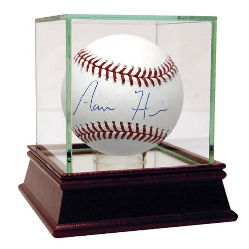 New York Yankees Aaron Hicks Signed Rawlings Official Major League Baseball