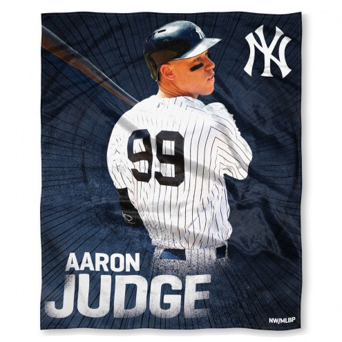 New York Yankees Aaron Judge Silk Touch Blanket