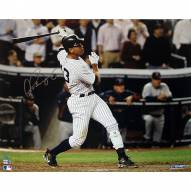 """New York Yankees Alex Rodriguez ALDS Game 2 Two Run HR Signed 16"""" x 20"""" Photo"""