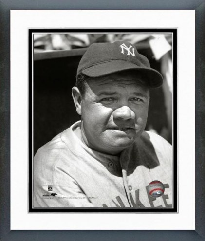 New York Yankees Babe Ruth 1930 Framed Photo