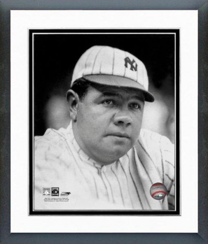 New York Yankees Babe Ruth Classic Portrait Framed Photo