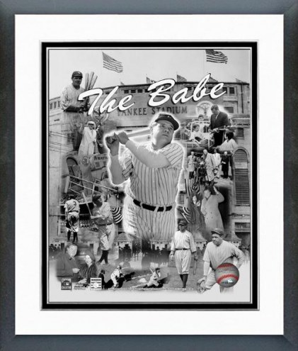 "New York Yankees Babe Ruth ""The Babe"" Framed Photo"