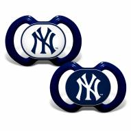 New York Yankees Baby Pacifier 2-Pack
