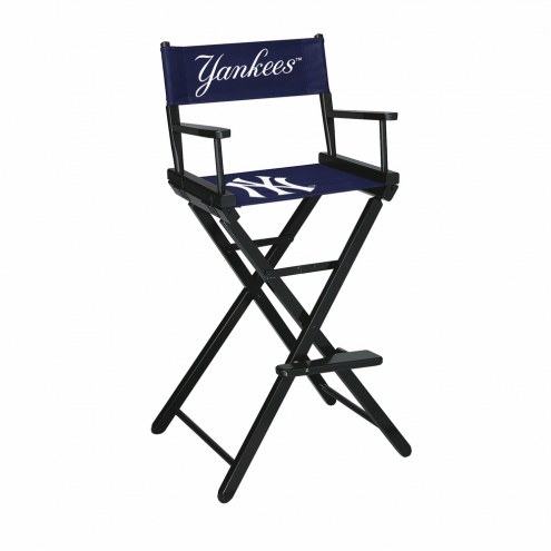 New York Yankees Bar Height Director's Chair