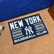 New York Yankees Baseball Club Starter Rug