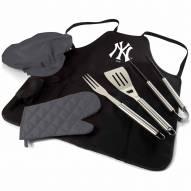 New York Yankees BBQ Apron Tote Set