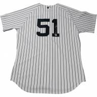 New York Yankees Bernie Williams Signed Authentic Home Jersey