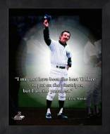New York Yankees Billy Martin Framed Pro Quote