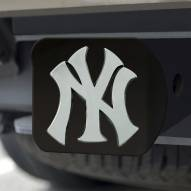 New York Yankees Black Matte Hitch Cover