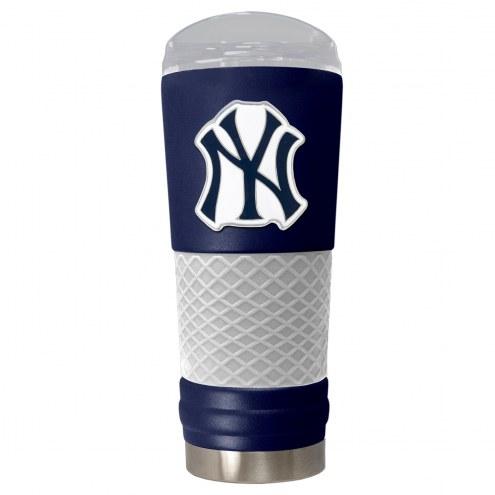 New York Yankees Blue 24 oz. Powder Coated Draft Tumbler