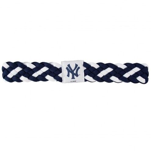 New York Yankees Braided Head Band