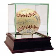 New York Yankees Braves and Cardinals 1950s Multi Signed ONL Baseball