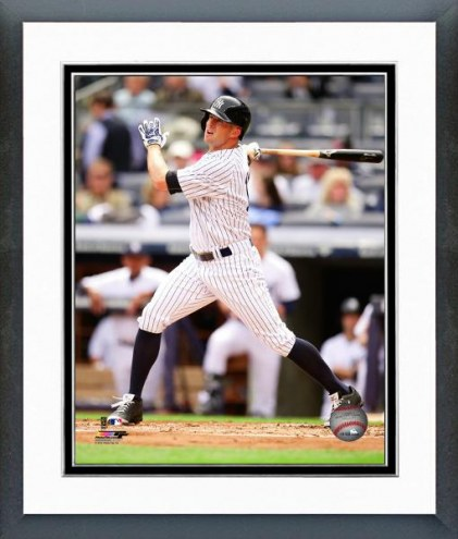 New York Yankees Brett Gardner Action Framed Photo