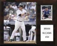 "New York Yankees Brian McCann 12"" x 15"" Player Plaque"