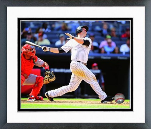 New York Yankees Brian McCann Action Framed Photo