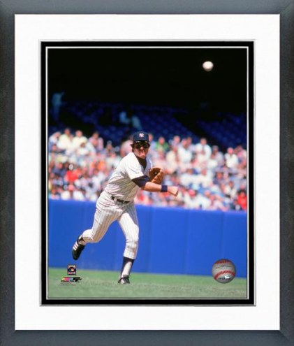 New York Yankees Bucky Dent Action Framed Photo