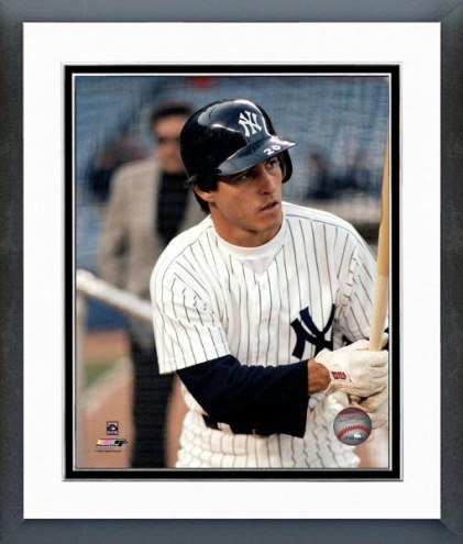 New York Yankees Bucky Dent At bat Framed Photo