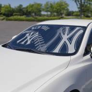 New York Yankees Car Sun Shade
