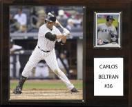 "New York Yankees Carlos Beltran 12"" x 15"" Player Plaque"