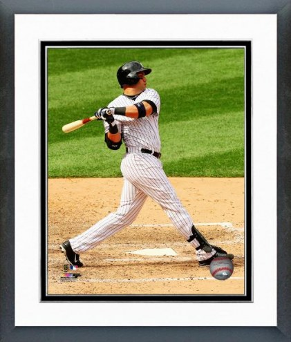 New York Yankees Carlos Beltran Action Framed Photo