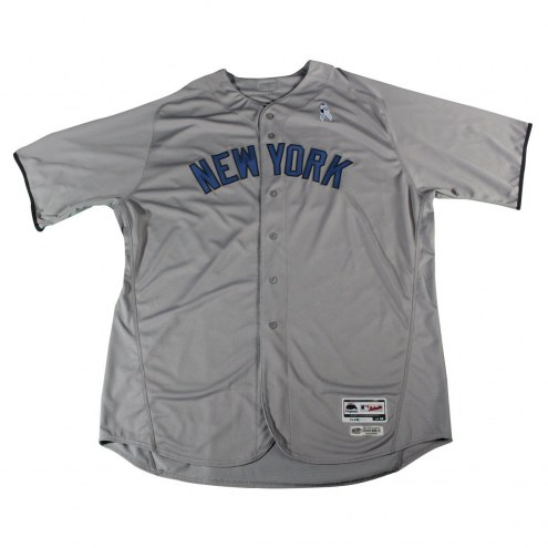 New York Yankees CC Sabathia Signed Game Issued #52 Fathers Day Grey Jersey (6/18/2017)