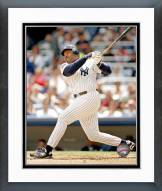 New York Yankees Cecil Fielder Action Framed Photo