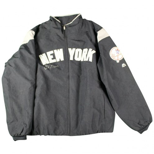 New York Yankees Chad Green Signed 2017 Game-Issued #57 Road Jacket