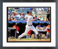 New York Yankees Chase Headley Action Framed Photo
