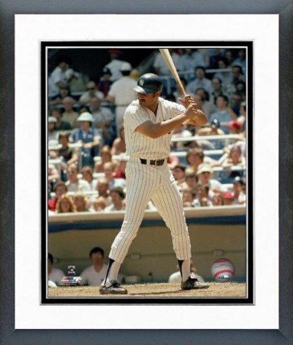 New York Yankees Chris Chambliss Batting Framed Photo