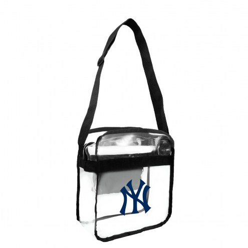 New York Yankees Clear Crossbody Carry-All Bag