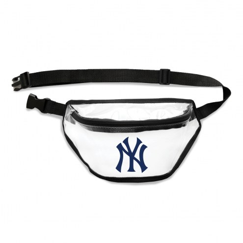 New York Yankees Clear Fanny Pack