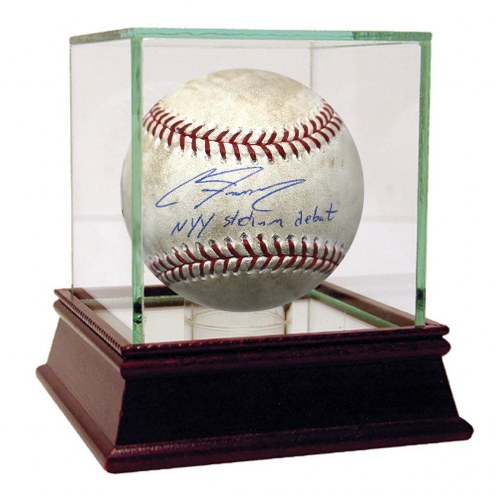 New York Yankees Clint Frazier Signed Blue Jays at Yankees 7-3-2017 Game Used Baseball w/ NYY Stadium Debut