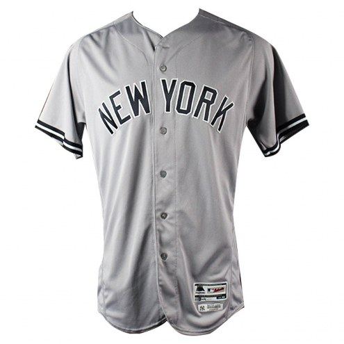 New York Yankees Clint Frazier Signed Game Used #77 Road Jersey (7/23/2017)