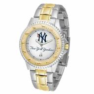 New York Yankees Competitor Two-Tone Men's Watch