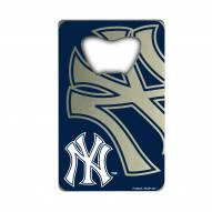 New York Yankees Credit Card Style Bottle Opener