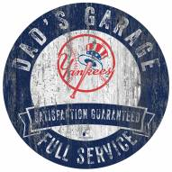 New York Yankees Dad's Garage Sign