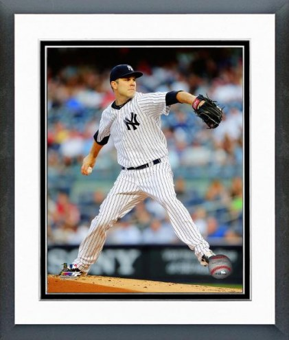New York Yankees David Phelps Action Framed Photo