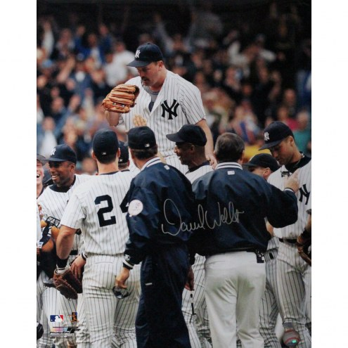 "New York Yankees David Wells Perfect Game Carry Off Signed 16"" x 20"" Photo"
