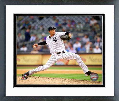 New York Yankees Dellin Betances Action Framed Photo