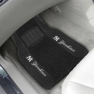 New York Yankees Deluxe Car Floor Mat Set
