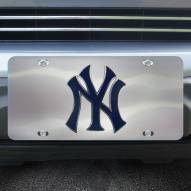 New York Yankees Diecast License Plate