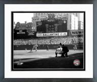 New York Yankees Don Larsen Perfect Game 1st Pitch Framed Photo