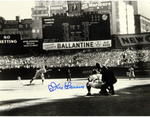 New York Yankees Don Larsen Signed PG First Pitch 20 x 24
