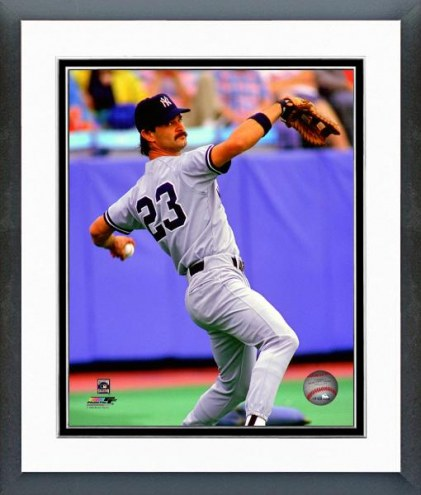 New York Yankees Don Mattingly 1988 Action Framed Photo