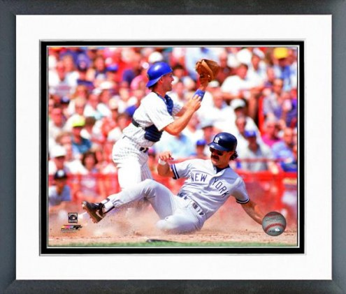 New York Yankees Don Mattingly 1990 Action Framed Photo