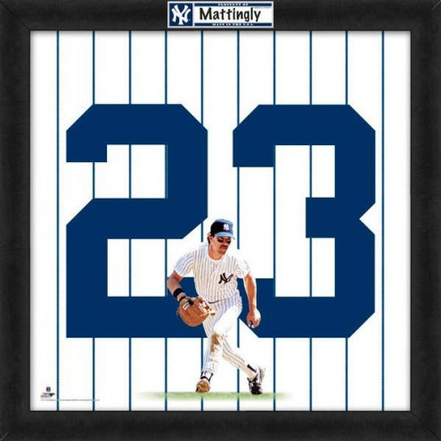 New York Yankees Don Mattingly MLB Uniframe Framed Jersey Photo