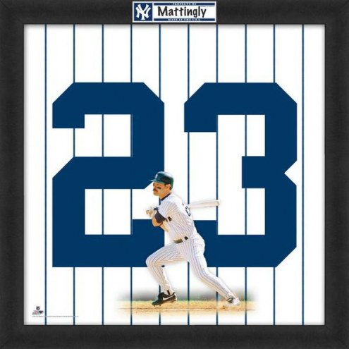 New York Yankees Don Mattingly Uniframe Framed Jersey Photo