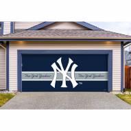 New York Yankees Double Garage Door Cover