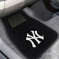 New York Yankees Embroidered Car Mats