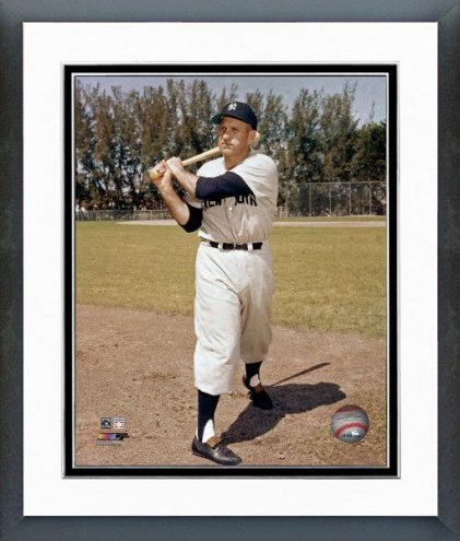 New York Yankees Enos Slaughter Posed Framed Photo